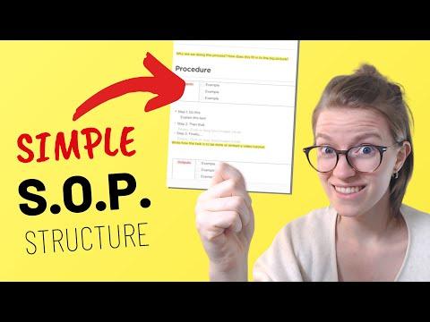 parts of an sop, clickup consultant, clickup tutorial, clickup training