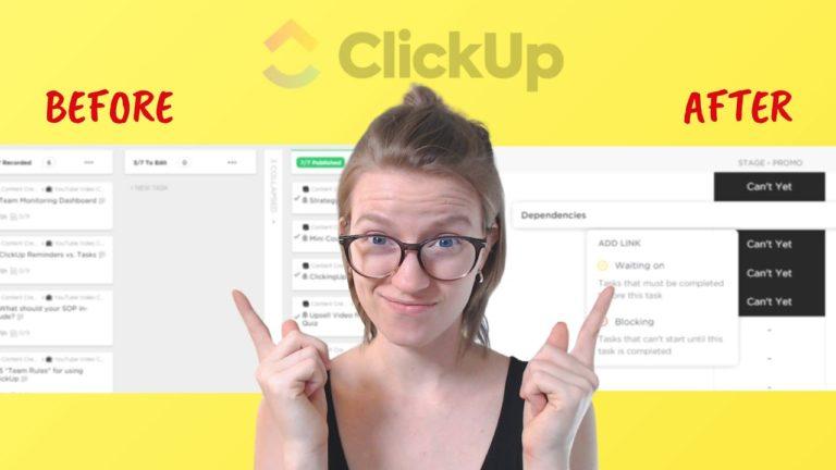 ClickUp Consultant, ClickUp tutorial, ClickUp training