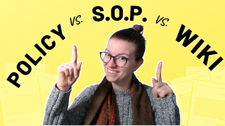what is an SOP, what is a wiki, what is a policy, clickup consultant, clickup tutorial