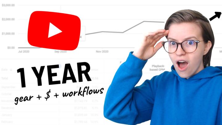 My YouTube Workflow, Gear, & Revenue (0 to 8K)