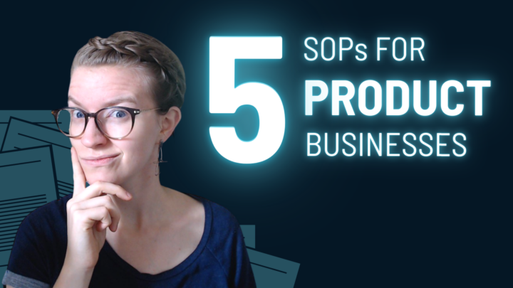 5 SOP Examples Every Product Business MUST Create