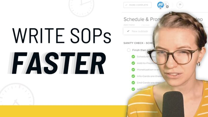 SOP Example: How to write a Standard Operating Procedure – FASTER!